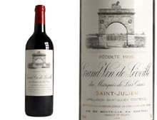 CH�TEAU LEOVILLE LAS CASES rouge 1999, Second Cru Class� en 1855 - caisse 12 x 0.750 L