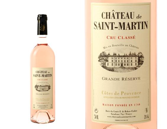 CHÂTEAU DE SAINT-MARTIN GRANDE RÉSERVE ROSÉ 2017
