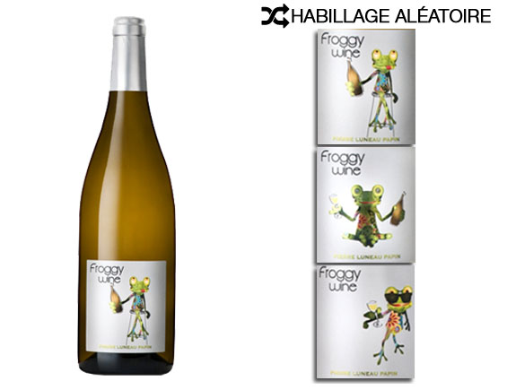 DOMAINE PIERRE LUNEAU-PAPIN FROGGY WINE BLANC 2017