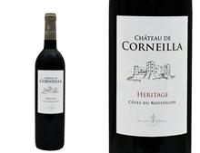 CHÂTEAU DE CORNEILLA HÉRITAGE ROUGE 2017