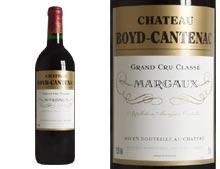 CHÂTEAU BOYD CANTENAC rouge 2003, Troisième Cru Classé en 1855