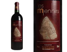 LES MENHIRS Rotwein 2004