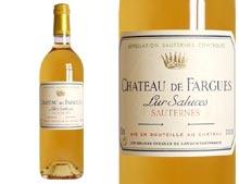 CHÂTEAU DE FARGUES blanc liquoreux 1999
