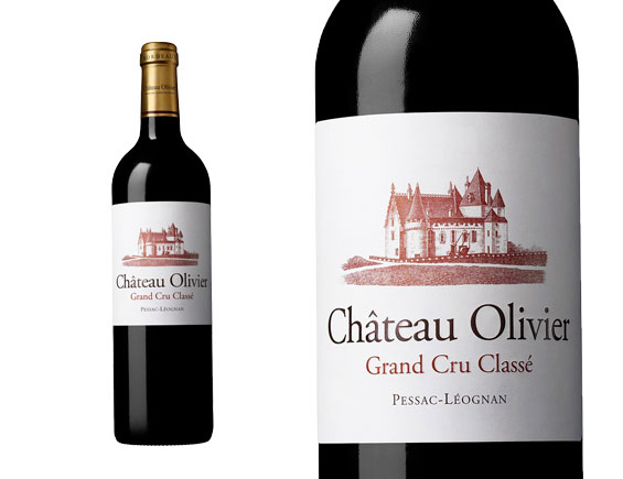 CHATEAU OLIVIER ROUGE 2019