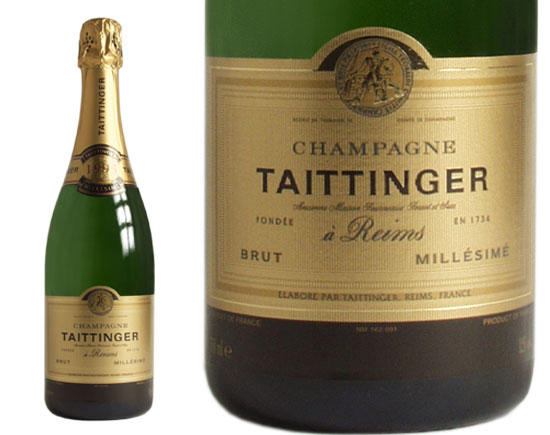 Taittinger Champagne Brut Millesime