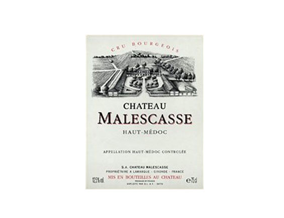CHÂTEAU MALESCASSE rouge  1997, Cru Bourgeois