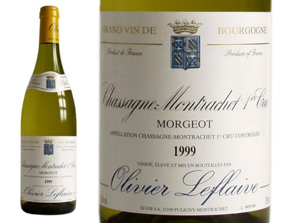 CHASSAGNE-MONTRACHET PREMIER CRU ''Morgeot'' blanc 1999