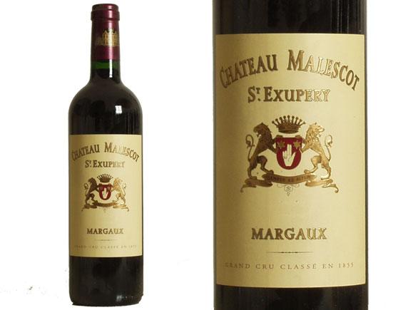 CHÂTEAU MALESCOT SAINT EXUPERY rouge 1996, Troisième Cru Classé en 1855