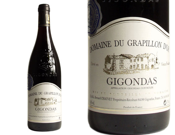 DOMAINE DU GRAPILLON D'OR GIGONDAS rouge 2004