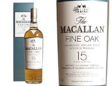 WHISKY MACALLAN FINE OAK 15 ANS - 0.700 L