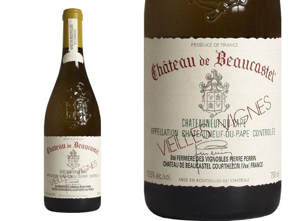 CHÂTEAU DE BEAUCASTEL CHÂTEAUNEUF DU PAPE Roussanne Vieilles Vignes blanc 2005