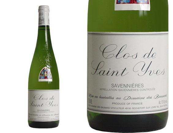 DOMAINE DES BAUMARD SAVENNIÈRES ''Clos Saint Yves'' blanc 2003