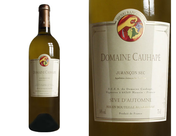 DOMAINE CAUHAPE SÈVE D'AUTOMNE blanc sec 2004