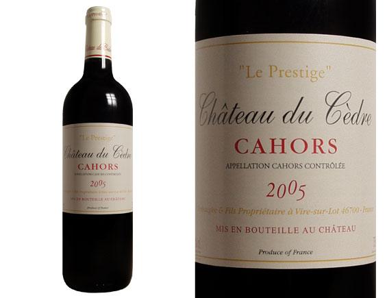 Bordeaux de cedre prix du