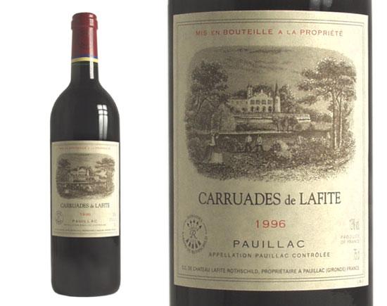 CARRUADES DE LAFITE rouge 1996, Second Vin du Château  Lafite-Rothschild