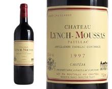 CHÂTEAU LYNCH-MOUSSAS rouge 1997, Cinquième Cru Classé en 1855