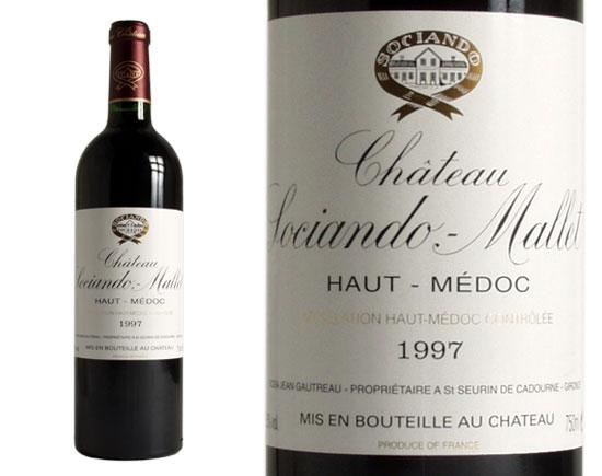 CHÂTEAU SOCIANDO-MALLET rouge 1997