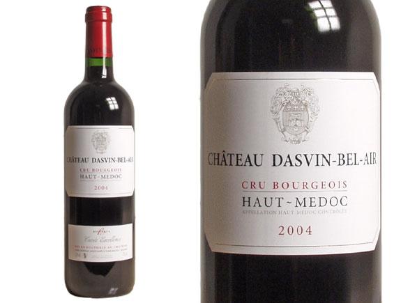 Château Dasvin Bel-Air 2004 Cru Bourgeois