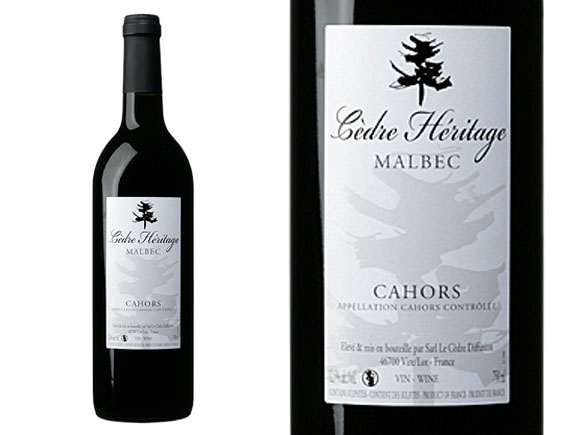 Cahors le cedre heritage rouge 2007 cahors wine of south - Le cedre rouge catalogue ...