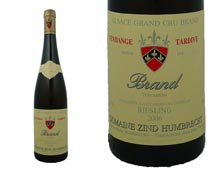 Zind Humbrecht Riesling Brand Grand Cru Vendanges Tardives 2006 - 37,5 cl