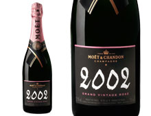 MO�T ET CHANDON GRAND VINTAGE ROSE 2002